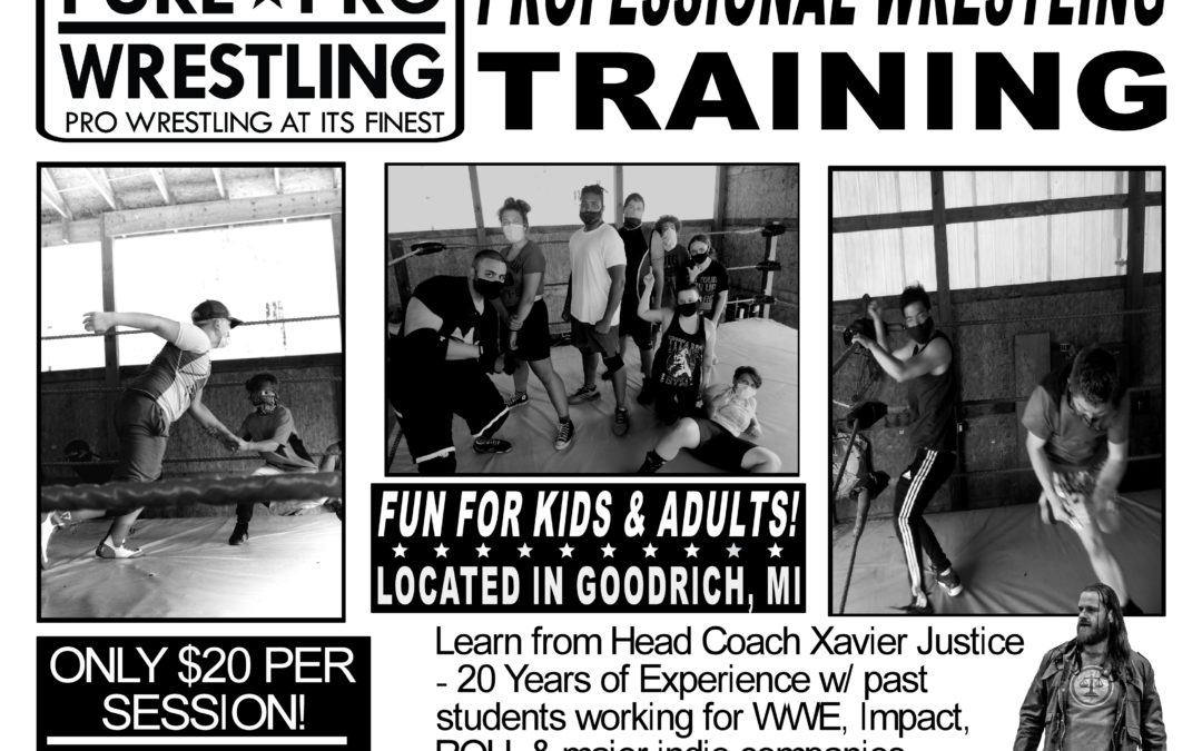 Pro Wrestling Classes For Kids & Adults